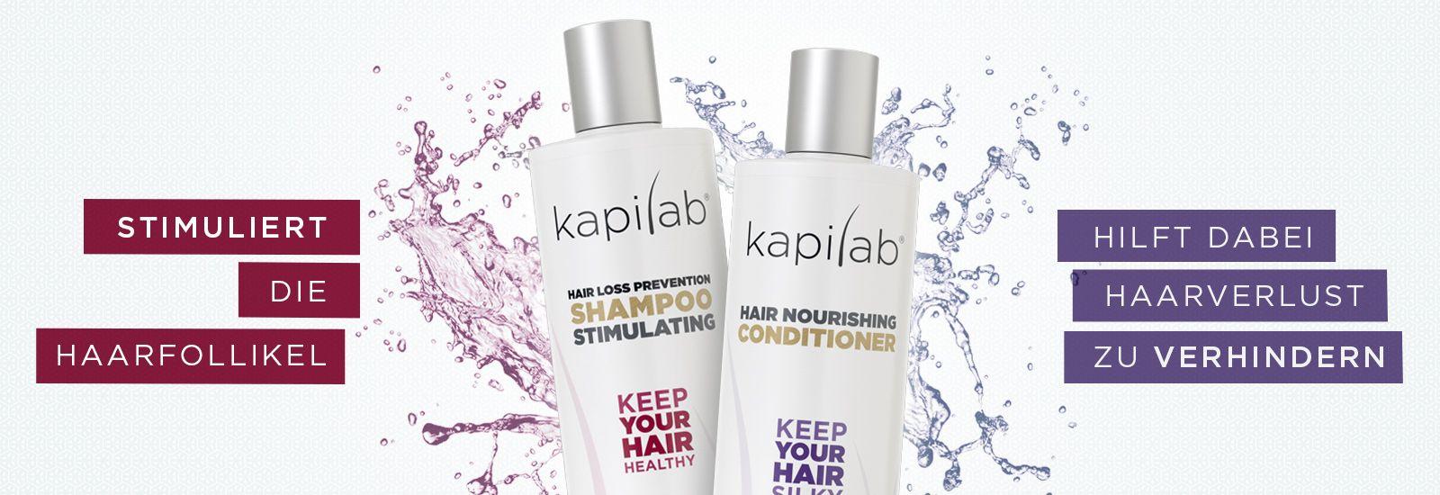 Kapilab Shampoo und Conditioner